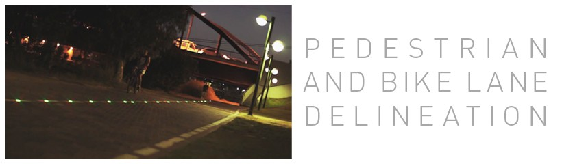 Pedestrian and Bike Lane Delineation